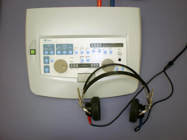 往診用聴力検査装置