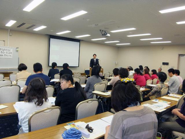 神奈川県介護福祉士協会の主催で講演